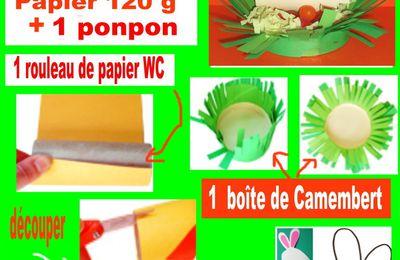 rouleau/sopalin/rouleau/papier/wc/panier/bag/box/boite/template/gabarit/mariage/fête/noel/christmas/technique/recycler/scrapbooking/stamping/carterie/carte/card/ATC/craft/paper/papier/recycling/recycled/explication/écolo/écologique/récup/astuce/maison/activités manuelles/poule/eggs/chocolat/PAQUES/EASTHER/rabbit/lapin/nespresso/tutoriel/tutorial/tuto/diy/fiche/technique/activité/périscolaire/paenfant/children/anniversaire/birthday/
