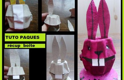 craft/papier/disney/animé/bug bunny/looney toons/capsules/lapin/rabbit/boite à oeuf/carton/bricolage/enfant/activité manuelle/maternelle/tap/périscolaire/récup recycler/recycling/recycled/écolo/récupération/tuto/tutoriel/nespresso/tutorial/facile/DIY/paques/pâques/pascua/easter/