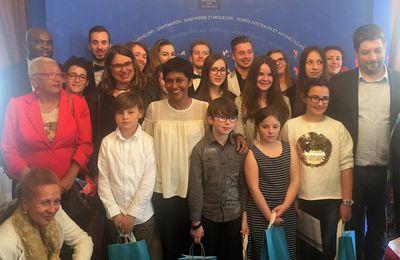 Cérémonie de la journée du 10 mai 2017 de l'abolition de l'esclavage au ministère de l'Outre-Mer :interview du bilan de la Ministre Ericka Bareigts