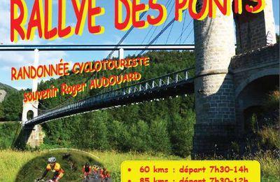 Samedi 6 mai - Rallye des Ponts