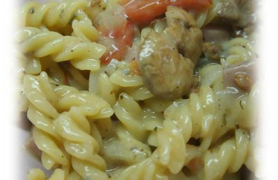One Pot Pasta au gorgonzola