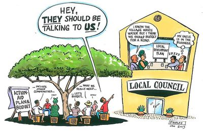Participatory democracy, only suitable for relatively small places?