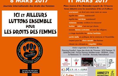 8 mars 2017 à Aix en Provence