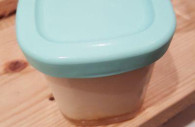 mon petit pot de yaourt au sirop d'érable