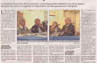 Un nouveau conseil municipal agité au Lavandou !