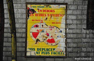 Carnets - Décarrossage de la station Trinité-d'Estienne d'Orves