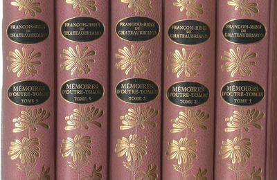 « Mémoires d'Outre Tombe ». Texte complet aux Editions Jean de Bonnot !