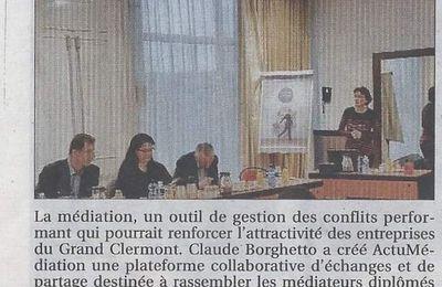 Médiation en Auvergne : en avant , toute !