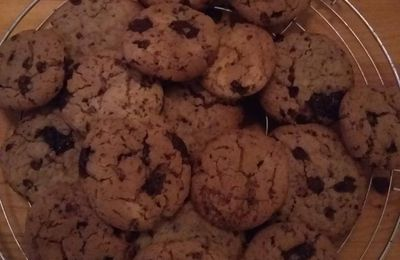 COOKIES AU CHOCOLAT (thermomix)