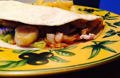 Tortilla Dinde et Guacamole