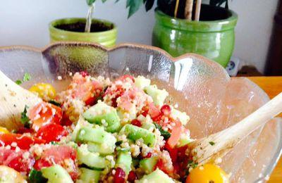 Taboulé de quinoa à la grenade
