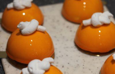 Dômes douceur d'abricot