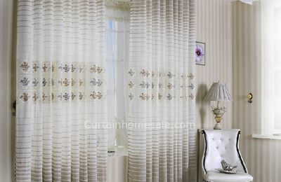Collocation Of The Fashion Sheer Curtains