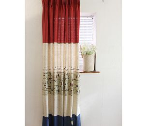 Fabric of small curtains