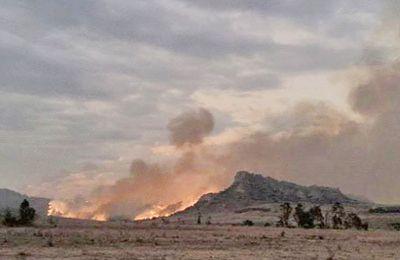 Incendie – Les feux sont indomptables à Isalo