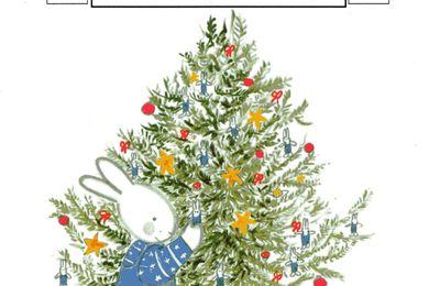 """Album """"J'aime Noël"""" de Marie Wabbes. Travail sur la couverture"""