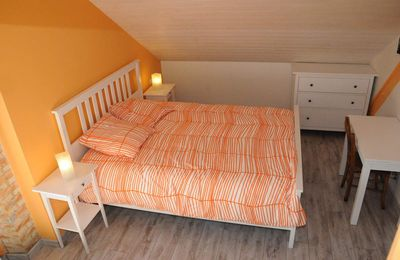Preuilh chambres d'hôtes: présentation chambre Aquaralle