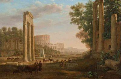 Rome en écriture et en peinture