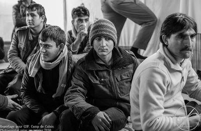 Retrouvez moi le 12 Décembre sur une exposition sur les camps de Calais