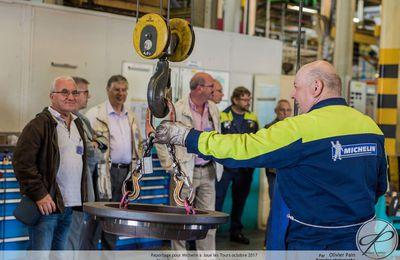 Reportage chez Michelin à Joué les Tours : partie deux, la visite de l'usine