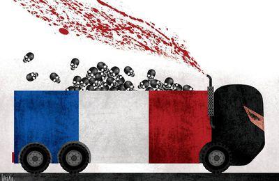 #Nice l'hommage des caricaturistes - dessinateur de presse