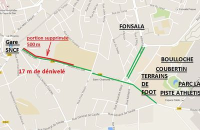 URGENT : Suppression Piste Cyclable Route du Coin-Octobre 2014