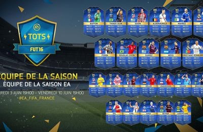 FUT 16 - TOTS BEST OF THE BEST DISPO !