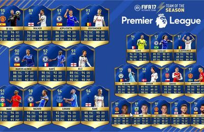 FIFA 17 - TOTS PREMIER LEAGUE ENFIN DISPO