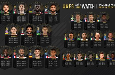 FIFA 18 - 23 NOUVEAUX OTW ( ONE TO WATCH)