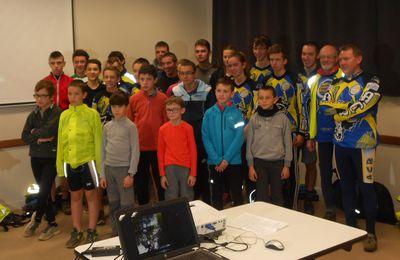 L'école de cyclotourisme de Saint-Brieuc