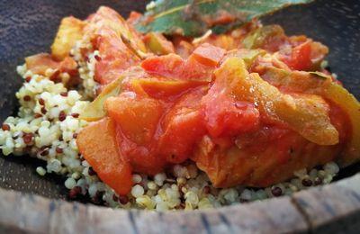 Trio de poissons au curry