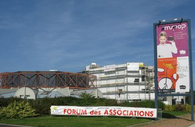 Le CDHP au forum des associations tout le week-end