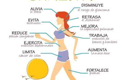 Caminar 30 minutos al dia tiene un montón de beneficios ¿los conoces?