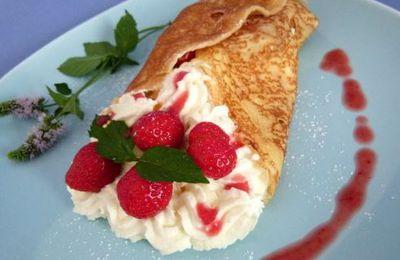 De l'été à l'automne : fraises et crêpes !