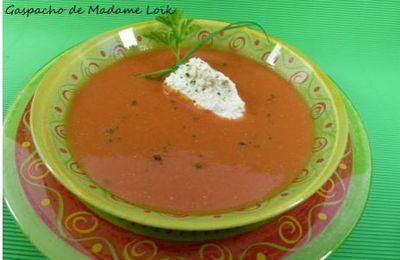 Gaspacho de tomates pour chaleur torride !