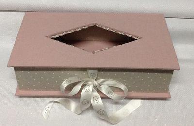 Altra scatola... che servirà come porta kleenex per la cameretta del bebè