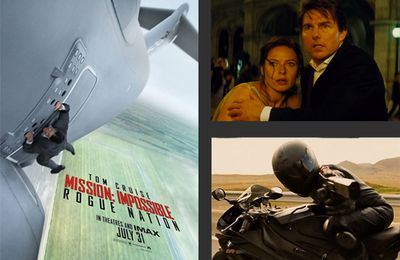 Mission impossible 5 : Rogue nation (2015).