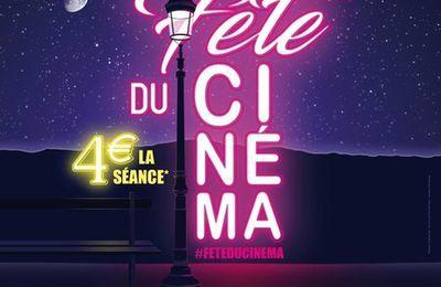 LA FETE DU CINEMA  26,27,et 28 juin à Saint Jorioz