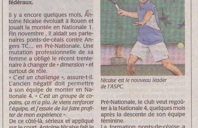 Antoine dans le journal!