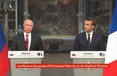La meilleure de l'année: Selon Macron, RT et Sputnik ne sont pas des organes de presse...mais de propagande