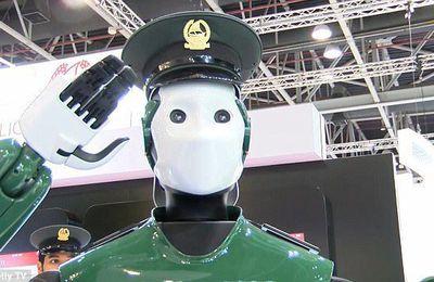 Robocop à Dubaï = un nouveau robot policier