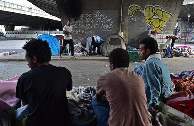 FRANCE : 4 000 nouveaux migrants à Porte de la Chapelle