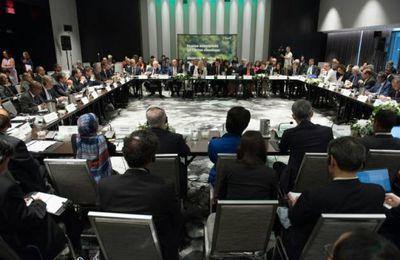 Climat: le monde avance sur l'accord de Paris, les Américains soufflent le chaud et le froid