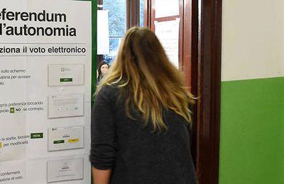Italie : les autonomistes font un carton en Vénétie et en Lombardie