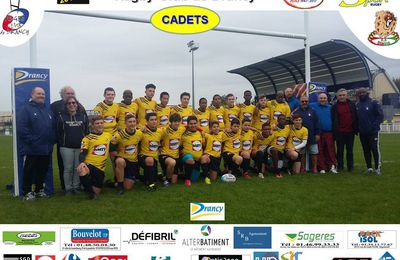 Saison 2017/2018: RC Drancy : Photo des CADETS