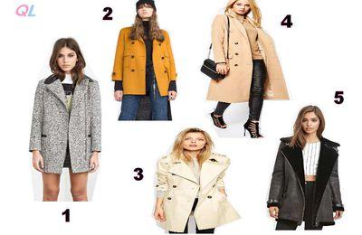 Shopping : 5 superbes manteaux à moins de 100 €