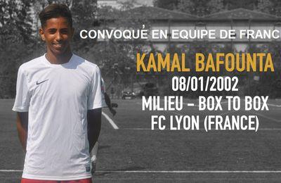 BIG UP !! Le jeune Kamal Bafounta, convoqué en équipe de France
