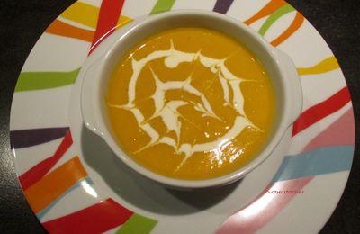 Soupe de carottes au curry