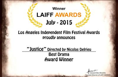 2 winning awards in Los Angeles Independent Film Festival Awards