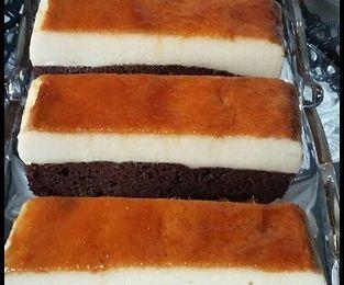 kodret kadern, gâteau magique au chocolat ou chocoflan